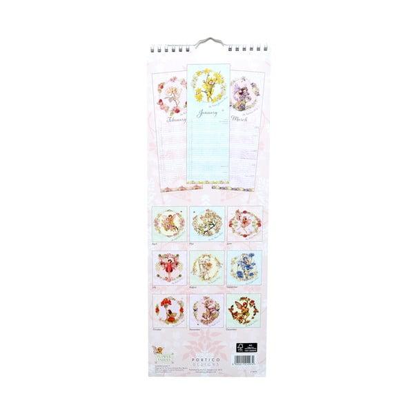 Kalendarz podłużny Portico Designs Flower Fairies