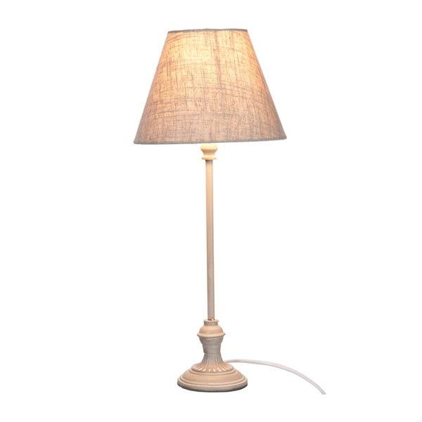 Lampa stołowa Jolipa 49 cm, szara