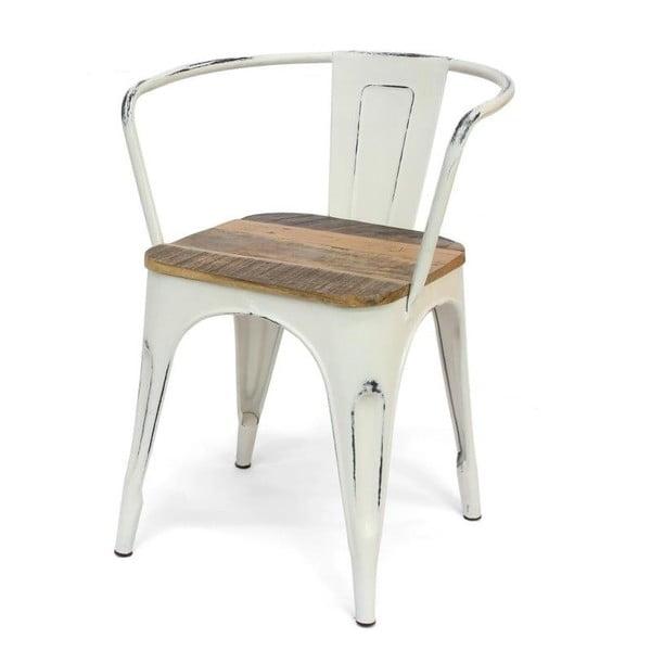 Białe krzesło Xilot