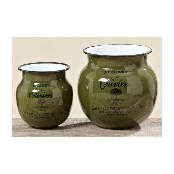 Komplet 2 wazonów Olive