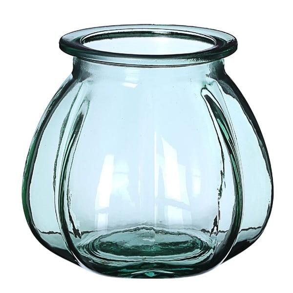 Wazon szklany Green, 18x16 cm