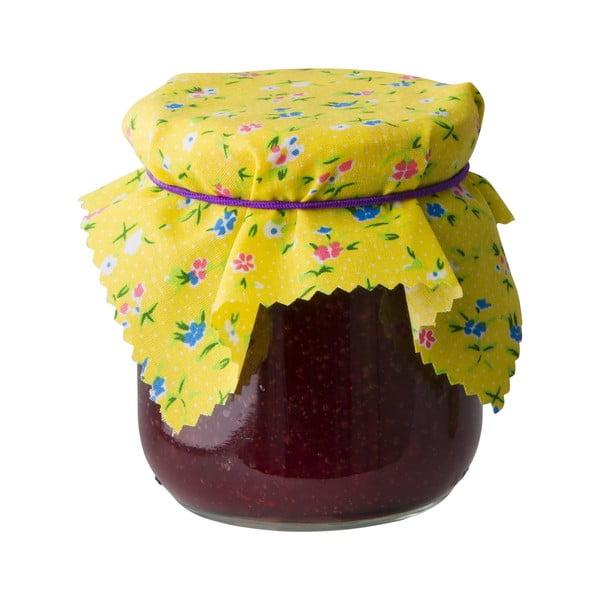 Zestaw 5 ozdób na słoiki z przetworami Assortino