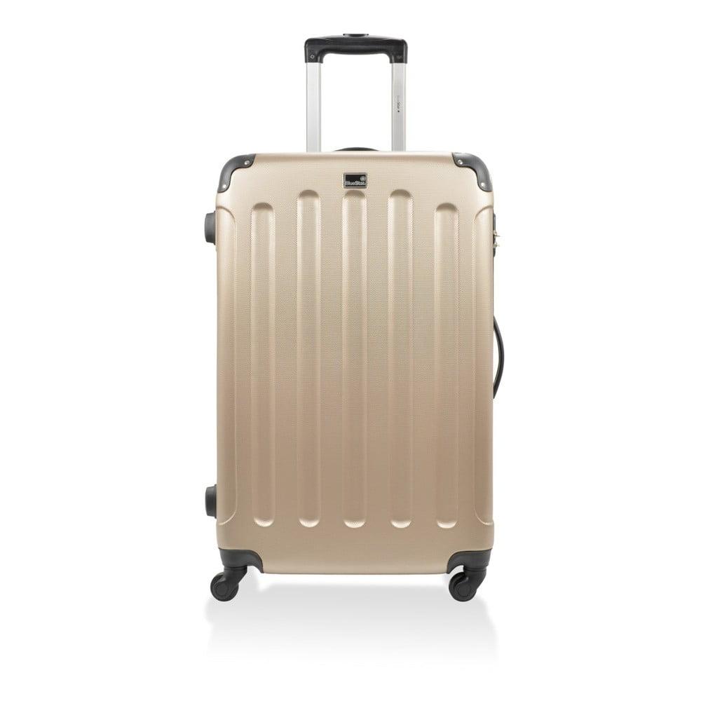 f4b48a878e7ab Zestaw 3 beżowych walizek na kółkach Blue Star Madrid | Bonami