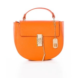 Skórzana torebka Grana Dollaro Orange