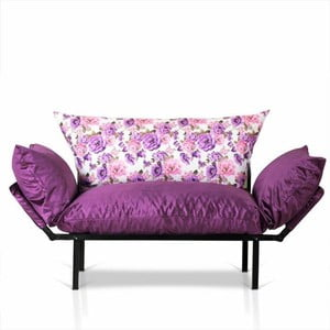 Fioletowa sofa Kate Louise Quinny Flower