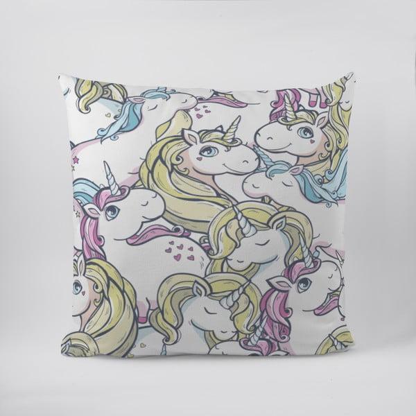 Poduszka Butter Kings Unicorn Heaven, 50 x 50 cm