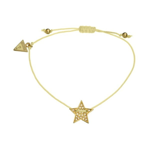 Bransoletka GUESS Gold Star