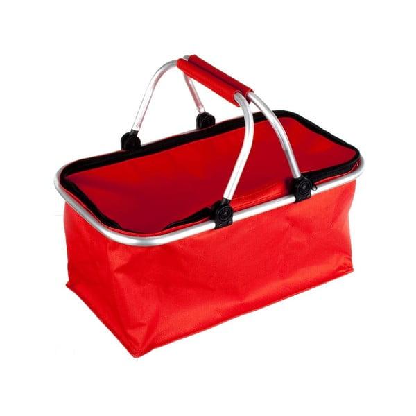 Koszyk na zakupy Vetro, czerwony