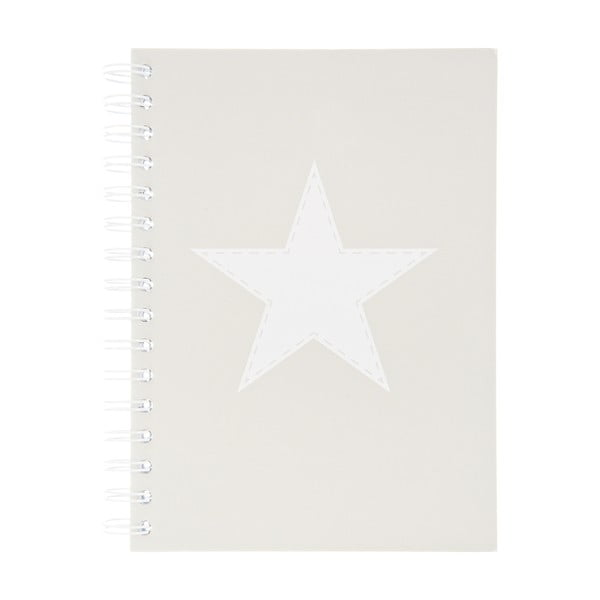 Notatnik Stars Grey