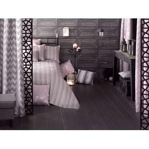 Komplet różowej narzuty i 2 poszewek na poduszkę Apolena Luxury