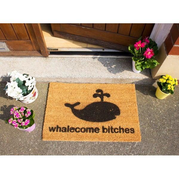 Wycieraczka Artsy Doormats Whalecome Bitches, 40x60 cm