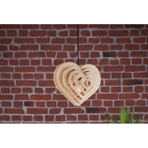 Lampa wisząca Wood Heart