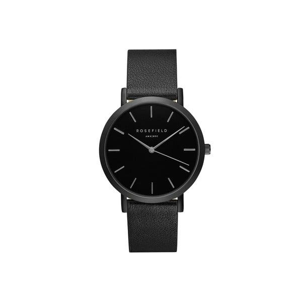 Czarny zegarek damski Rosefield - The Gramercy