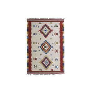 Dywan tkany ręcznie Kilim Mili, 215x155cm