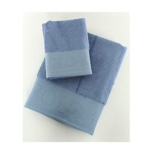 Komplet 2 ręczników Towel US Polo Blue, 50x90 i 90x150 cm
