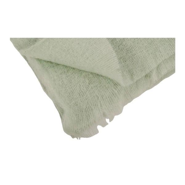 Pled XL Mohair Vert, 150x220 cm