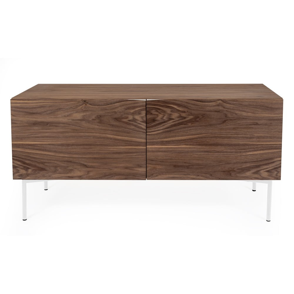 Brązowa komoda w dekorze drewna orzecha Woodman Flop, 65x120 cm