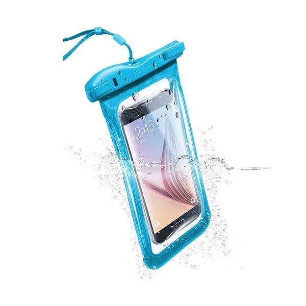 Etui na telefon, wodoszczelne, uniwersalne Cellularline VOYAGER, niebieskie