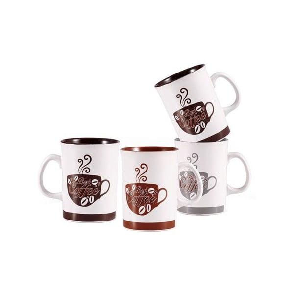 Zestaw kubków Coffee ze stojakiem, 4 szt.