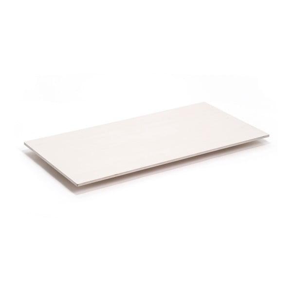Blat Flat - drewno bielone, 150x75 cm