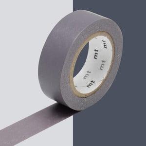 Szaro-fioletowa taśma dekoracyjna washi MT Masking Tape Uni