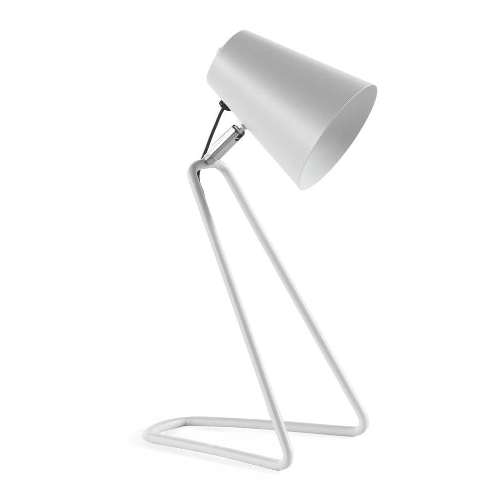 Biała lampa stołowa Geese Line