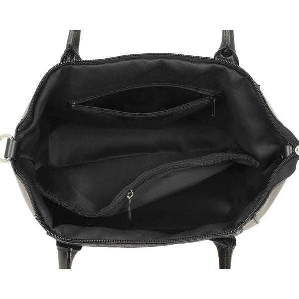 Skórzana torebka Gress Black