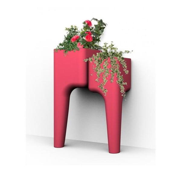 Designerska doniczka KIGA Small 88x34 cm, czerwona
