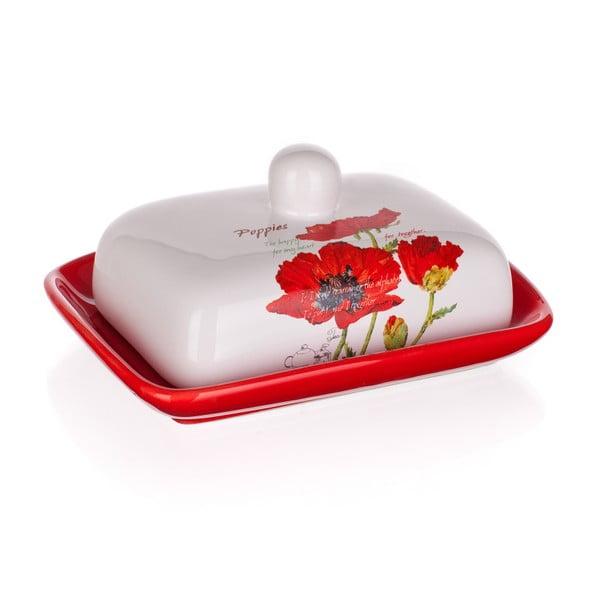 Maselniczka ceramiczna Banquet Red Poppy