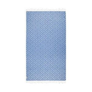 Niebieski ręcznik hammam Kate Louise Bonita, 165x100 cm