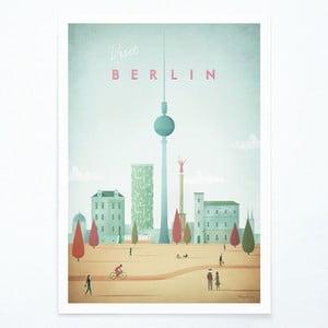 Plakat Travelposter Berlin, A3