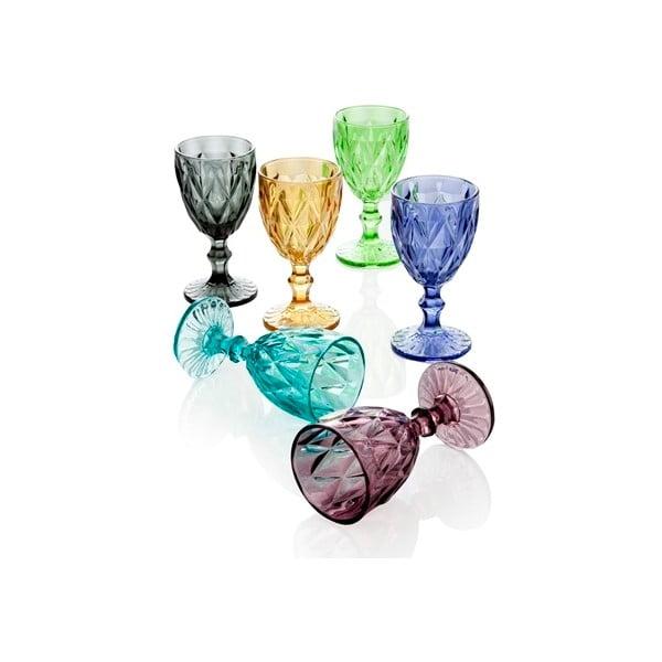 Zestaw 6 kieliszków Brandani Diamante Goblet