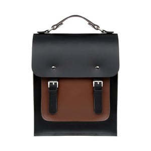 Skórzany plecak Howson Black/Chestnut