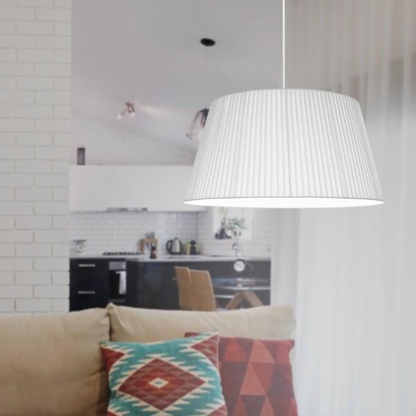 Biała lampa wisząca Sotto Luce KAMI,Ø54cm