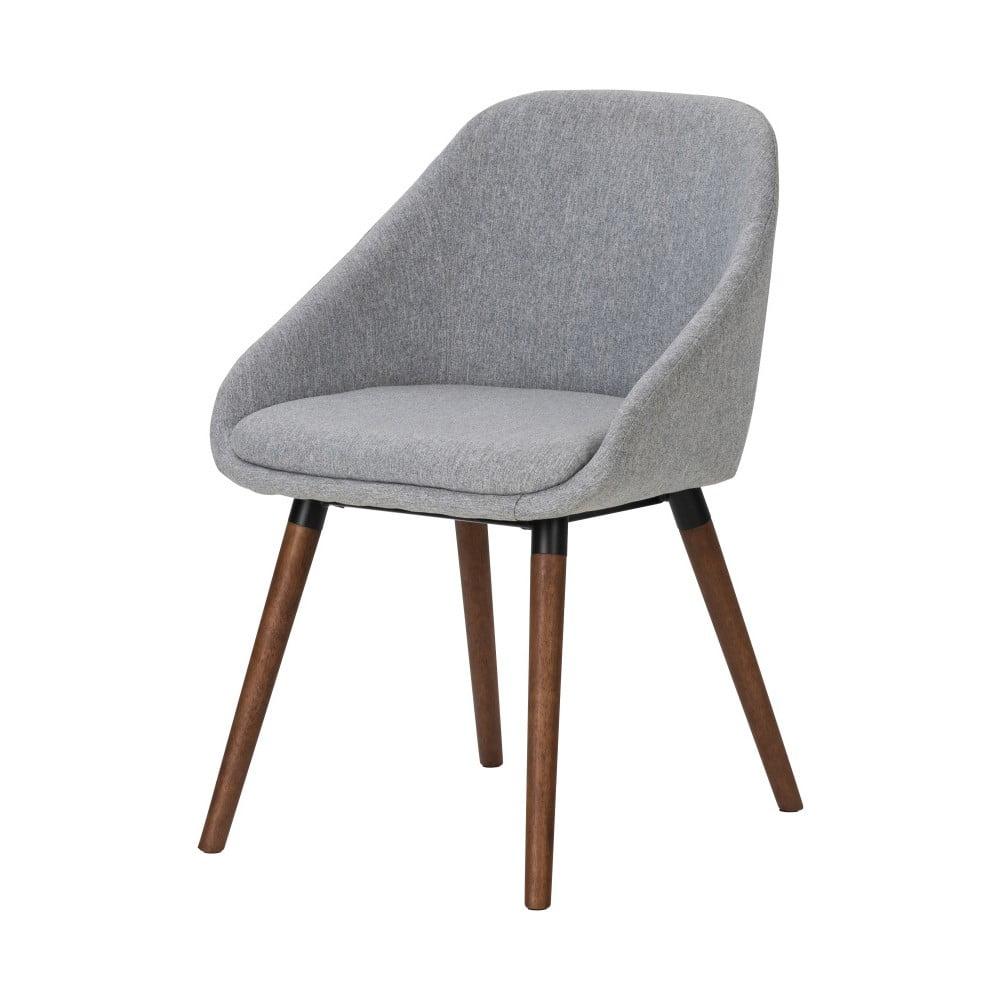 Szare Krzesło Do Jadalni Interstil Nils Bonami