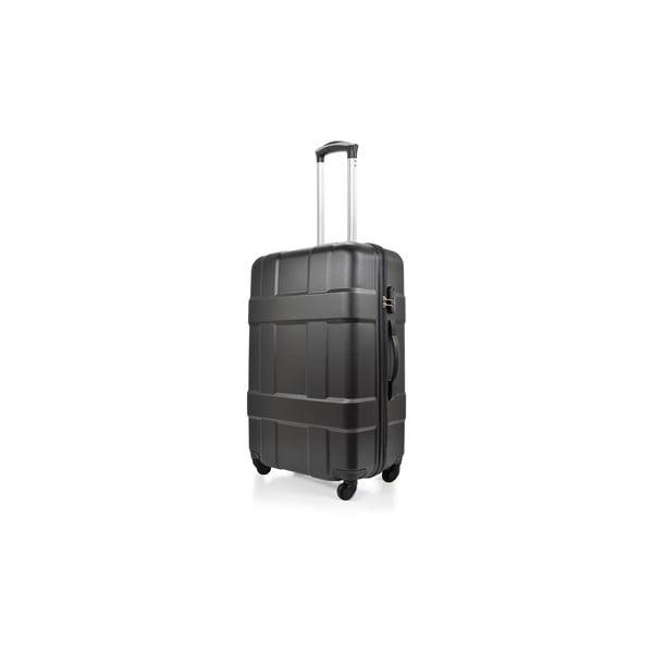 Zestaw 3 czarnych walizek na kółkach Hero Taylor