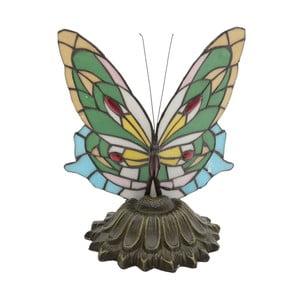Lampa w kształcie motyla z witrażem InArt Mariposa