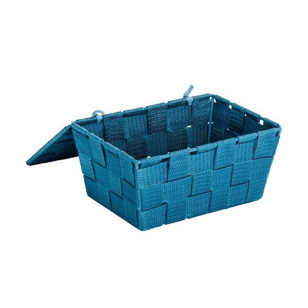 Ciemnoturkusowy koszyk zamykany Wenko Adria