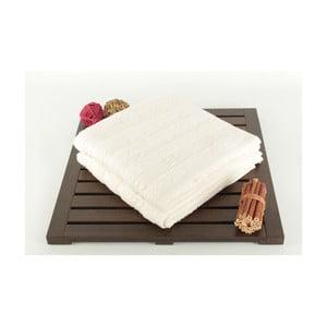 Zestaw 2 ręczników Patlac Ecru, 50x90 cm