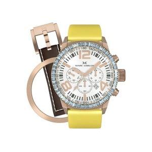 Zegarek damski Marc Coblen z dodatkowym paskiem i obręczą P35