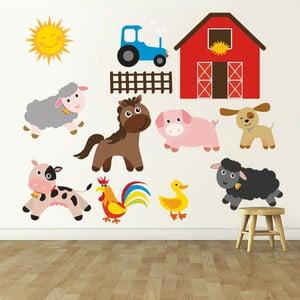 Naklejka dekoracyjna na ścianę Farma