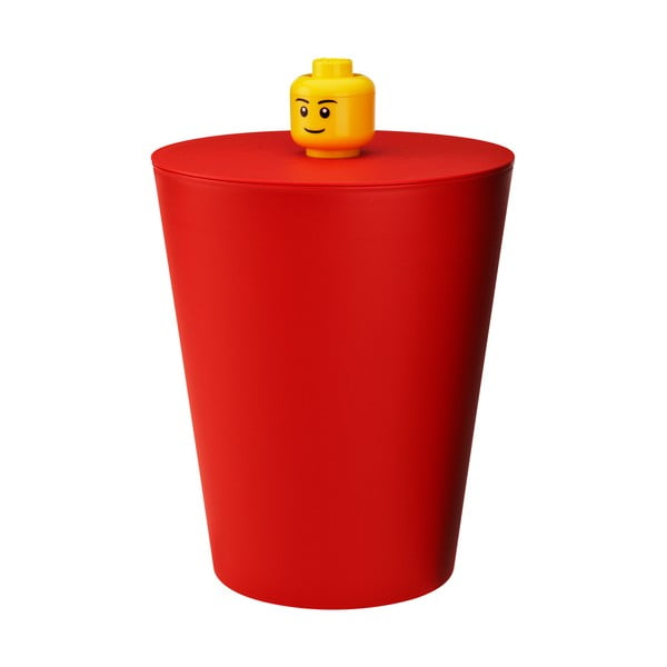 Kosz Lego, czerwony