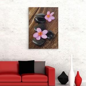 """Obraz na płótnie """"Drewniana podłoga"""", 50x70 cm"""