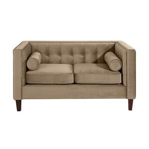 Jasnobeżowa sofa dwuosobowa Max Winzer Jeronimo