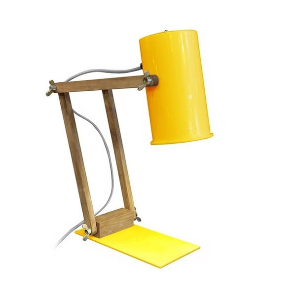 Lampa stołowa Baltic Yellow, 58 cm