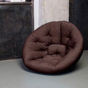 Fotel rokładany Karup Nest Brown