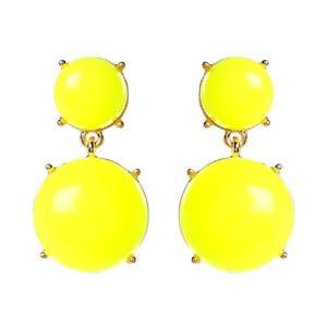 Kolczyki Bubble Gum Yellow