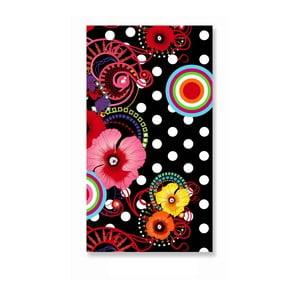Ręcznik kąpielowy Melli Mello Flamenco, 100 x 180 cm