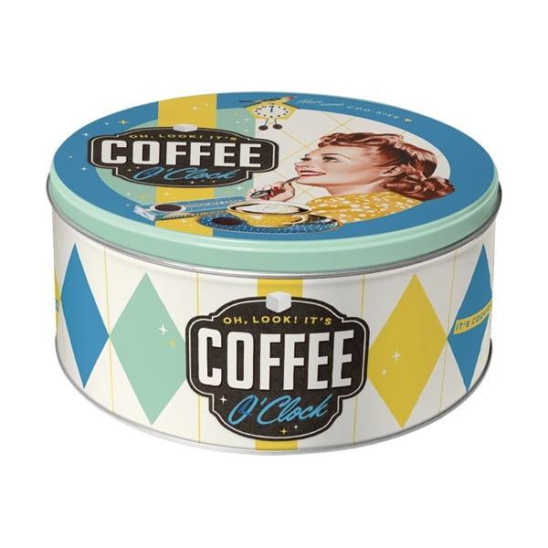 Okrągły pojemnik Coffee Oclock