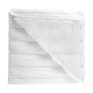 Biały ręcznik z czesanej bawełny Pierre, 50x90cm